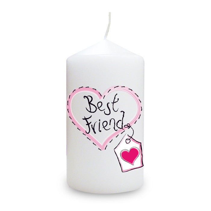 Buy Best Friend Heart Stitch Candle