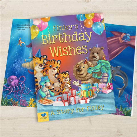 Birthday Wishes Story - Hardback | ShaneToddGifts.co.uk