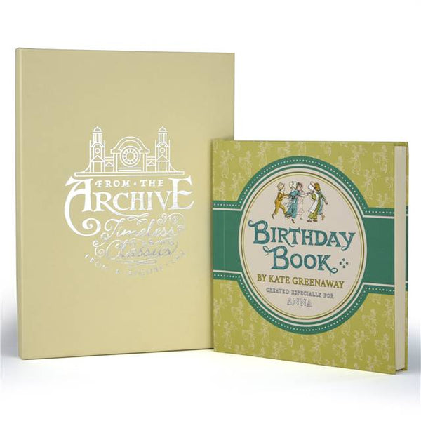 Personalised Kate Greenaway's Birthday Book | Gifts24-7.co.uk