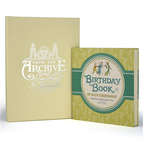 Personalised Kate Greenaway's Birthday Book