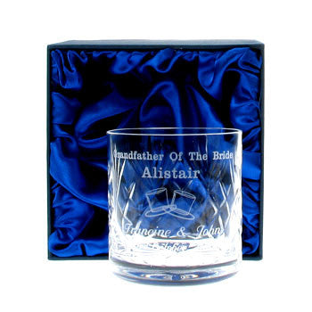 Grandfather of the Bride Whisky Glass | ShaneToddGifts.co.uk