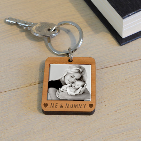 Personalised Wooden Key Ring - ME & ...