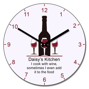 .......'s kitchen wall clock | Gifts24-7.co.uk