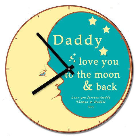 Daddy LYTTMAB Wall Clock - Shane Todd Gifts UK