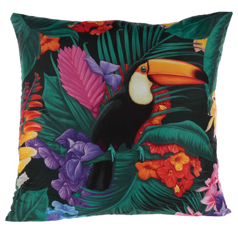 Cushion with Insert - Toucan Party