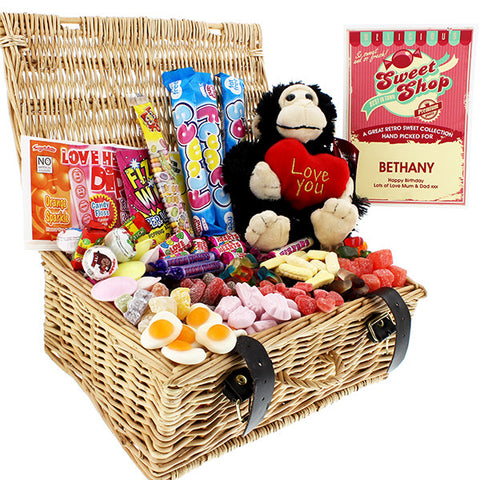 Personalised Cheeky Monkey Sweet Hamper