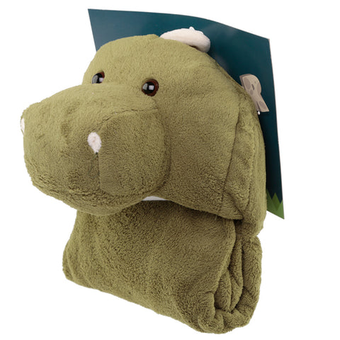 Plush Dinosaur Wearable Blanket