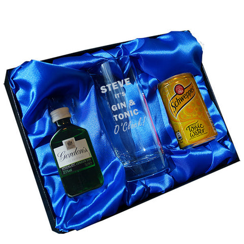 Gin & Tonic O Clock gift set | Gifts24-7.co.uk