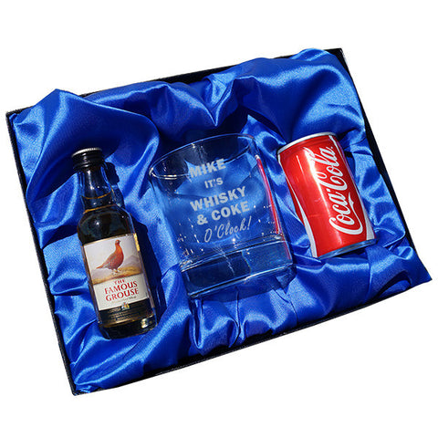 Whisky & Coke O Clock gift set | ShaneToddGifts.co.uk
