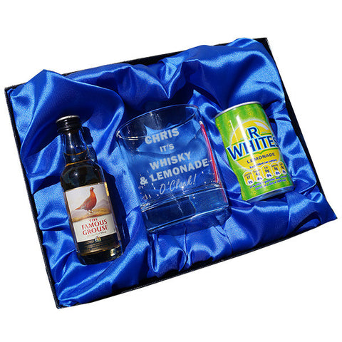 Whisky & Lemonade O Clock gift set | ShaneToddGifts.co.uk