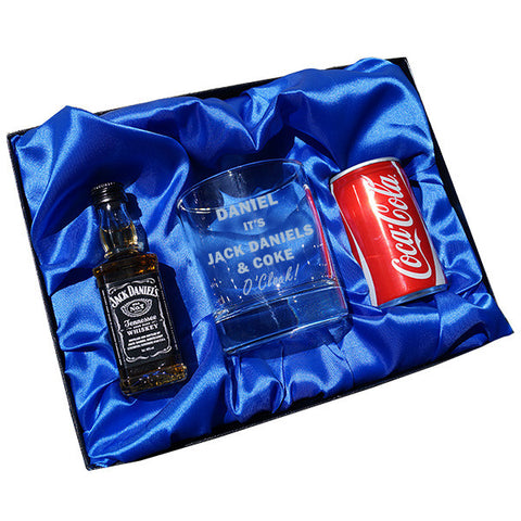Jack Daniels & Coke O Clock gift set | ShaneToddGifts.co.uk