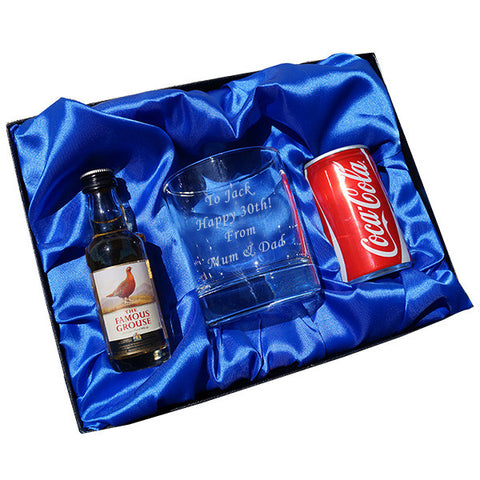 Whisky & Coke/Diet CokeTumbler gift set | ShaneToddGifts.co.uk