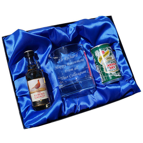 Whisky & Dry Ginger Tumbler gift set - Shane Todd Gifts UK