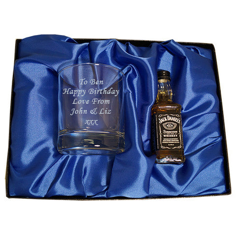 Jack Daniels & Tumbler gift set | ShaneToddGifts.co.uk