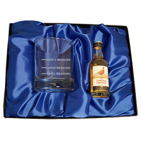 Whisky Measure gift set | Gifts24-7.co.uk