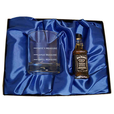 Jack Daniels Measure gift set | ShaneToddGifts.co.uk