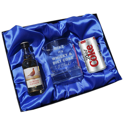 Whisky & Diet Coke o clock gift set | ShaneToddGifts.co.uk