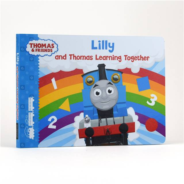 Personalised Me and Thomas Learning Together Book, Media by Low Cost Gifts