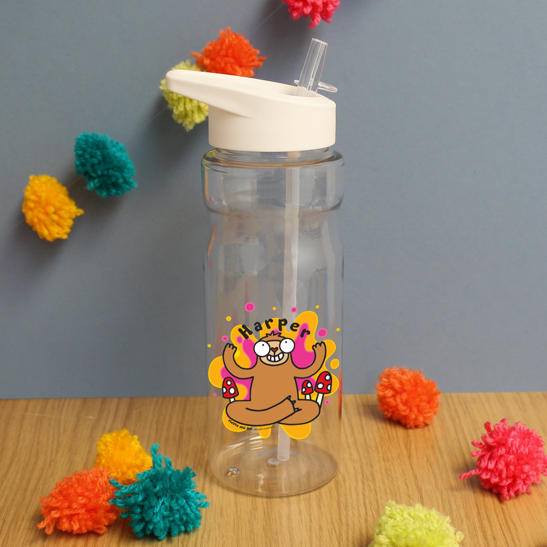 Groovy Sloth Waisted Water Bottle, Home & Garden by Low Cost Gifts