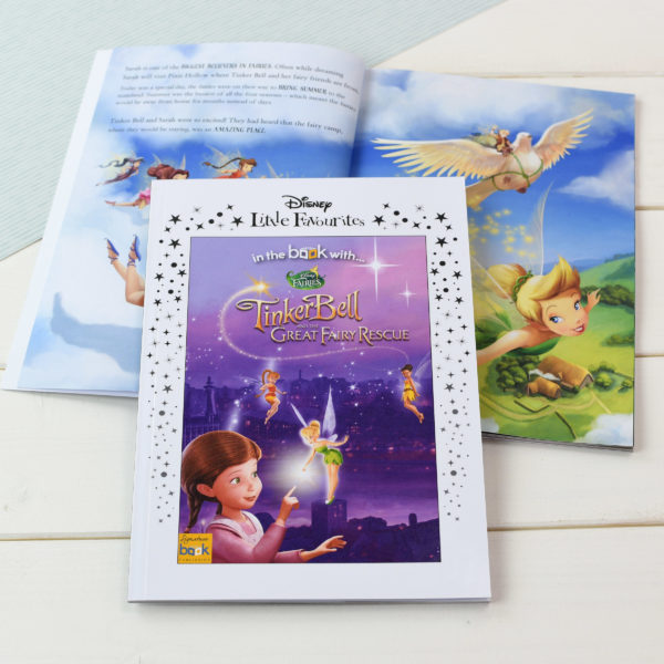 Personalised Disney Little Favourites Disney Fairies Book, Media by Low Cost Gifts