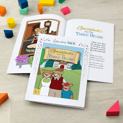 Personalised Favourites - Goldilocks And The Three Bears Book