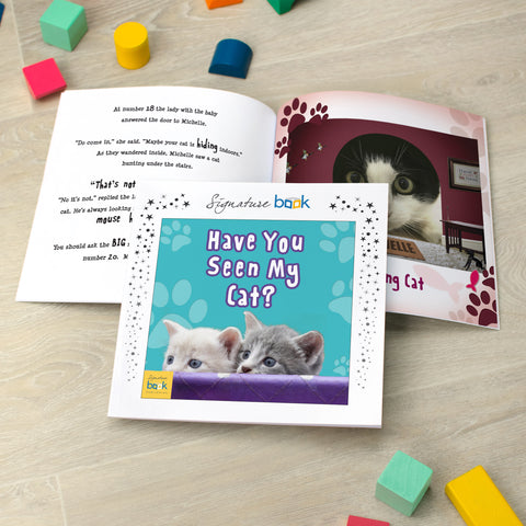 Personalised Favourites - Have You Seen My Cat Book