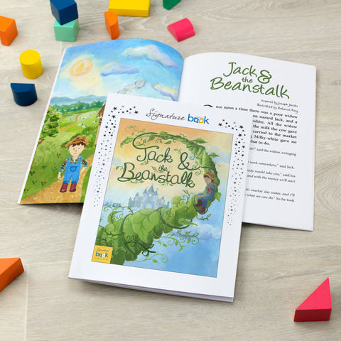 Personalised Jack & The Beanstalk Book