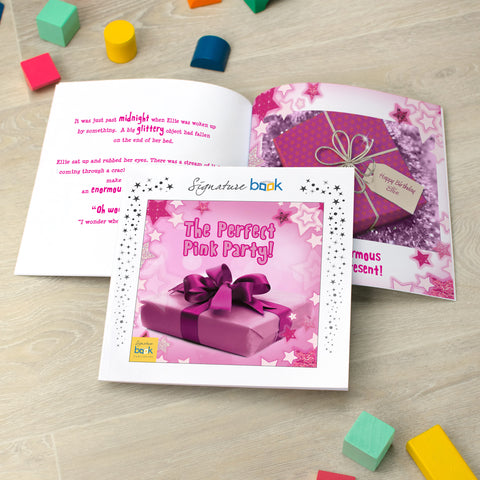 Personalised Favourites - The Perfect Pink Party Book