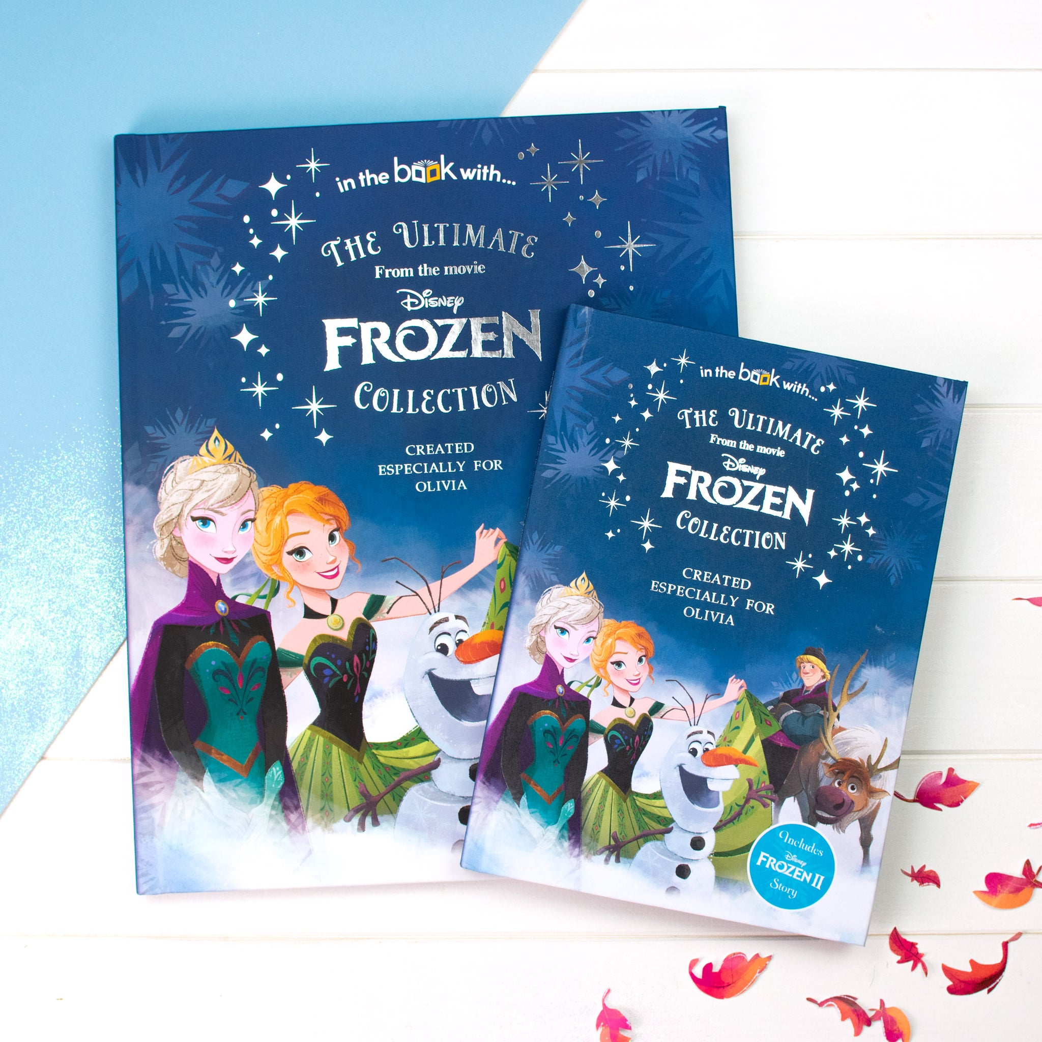 Premium Disney Personalised Frozen Collection Book