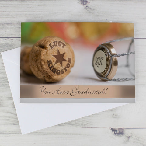Buy Personalised Champagne Card
