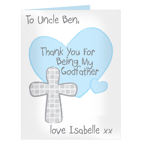 Personalised Godfather Card
