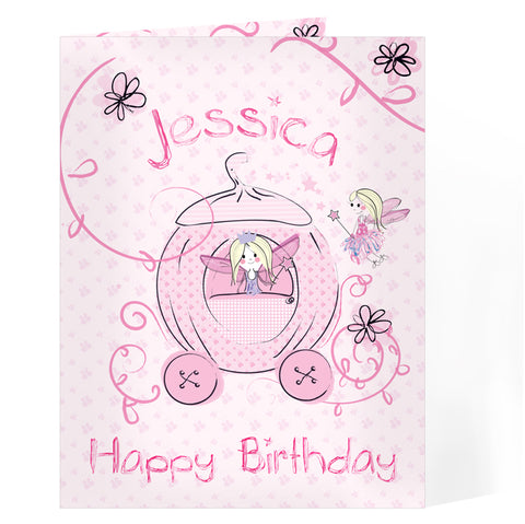 Buy Personalised Pumpkin Princess Card