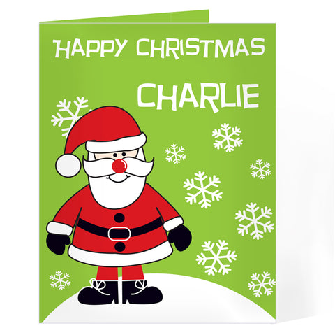 Personalised Santa Card | ShaneToddGifts.co.uk