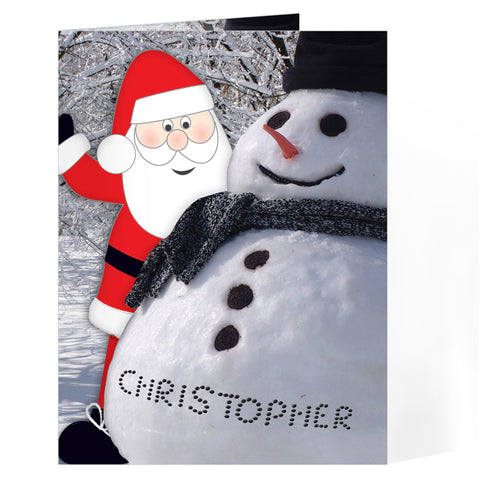 Personalised Card From Santa | ShaneToddGifts.co.uk