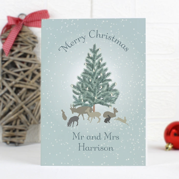 Personalised A Winter's Night Card, Gift Giving by Low Cost Gifts