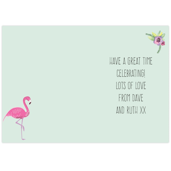 personalised-flamingo-card
