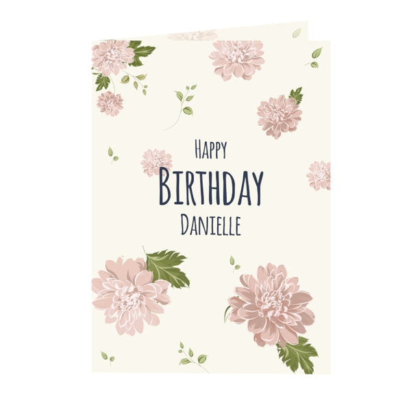 personalised-rose-gold-floral-card