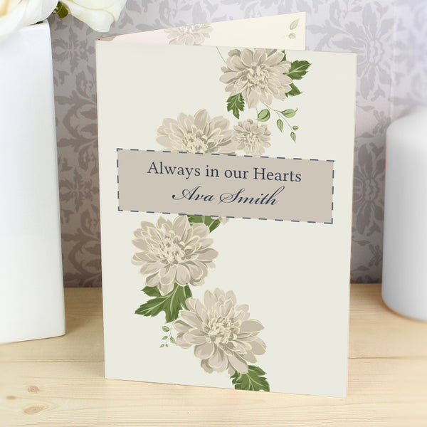 personalised-gold-floral-card