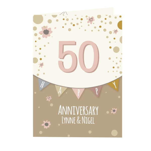 personalised-rose-gold-bunting-card