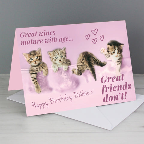 Personalised Rachael Hale 'Great Friends' Card | ShaneToddGifts.co.uk