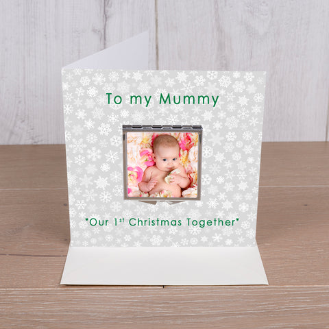 Card with Compact Mirror - To my Mummy