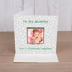 Compact Mirror Greeting Card