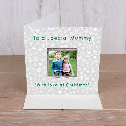 Card with Compact Mirror - To a Special Mummy