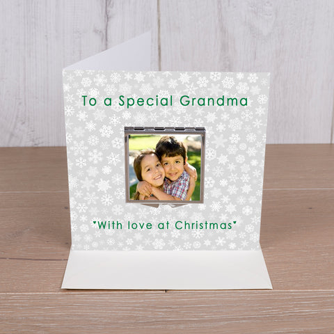Card with Compact Mirror - To a Special
