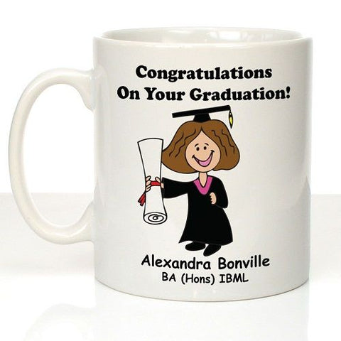 Personalised Graduation Mug For Her