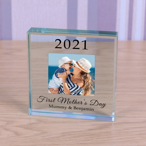 Personalised Glass Token - First Mothers Day