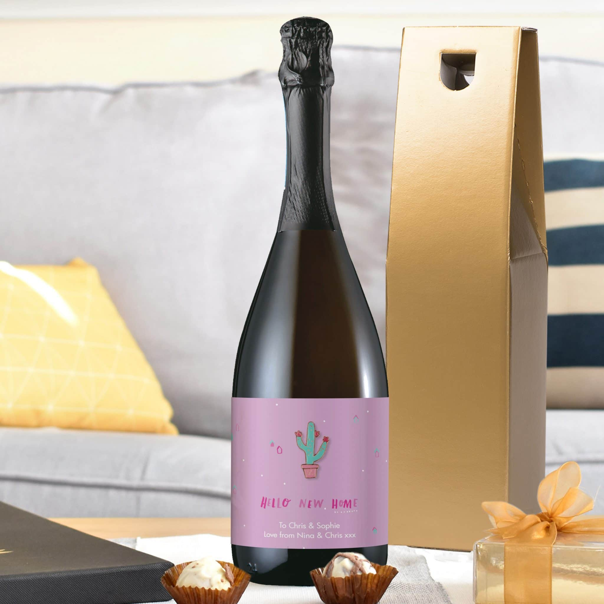 HotchPotch New Home Prosecco, Beverages by Low Cost Gifts