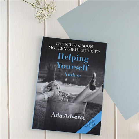 Personalised Mills and Boon Modern Girl's Guide to Helping Yourself
