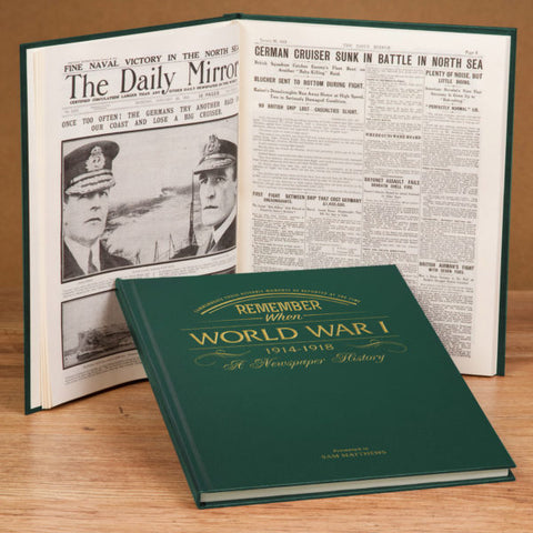 WW1 Newspaper Book