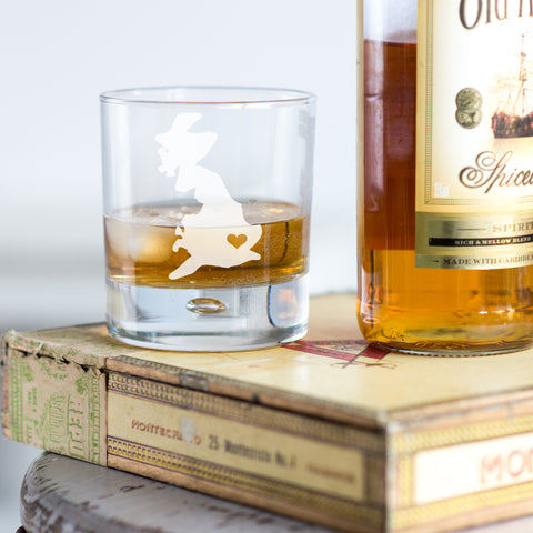 Home Is Where The Heart Is Whisky Glass - Shane Todd Gifts UK